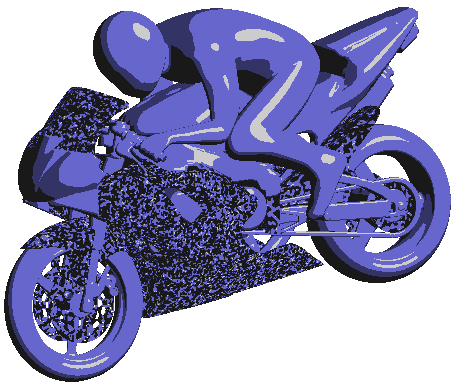 Garbled normals on some parts of motorbike